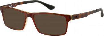 CAT (Caterpillar) CTO-X02 Sunglasses in Green/Tortoiseshell