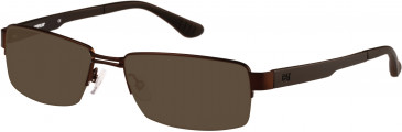 CAT (Caterpillar) CTO-J10 Sunglasses in Matte Brown/Black