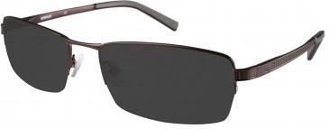 CAT (Caterpillar) CTO-W10 Sunglasses in Matte Gunmetal