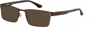 CAT (Caterpillar) CTO-J06 Sunglasses in Shiny Gunmetal/Black