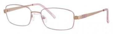 Ferucci FE676 Glasses in Rose