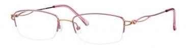 Ferucci FE669 Glasses in Rose