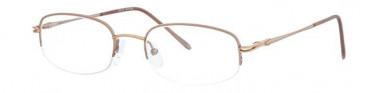 Ferucci FE653 Glasses in Pink/Gold