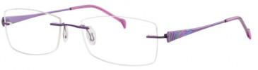 Ferucci FE704 Glasses in Lilac