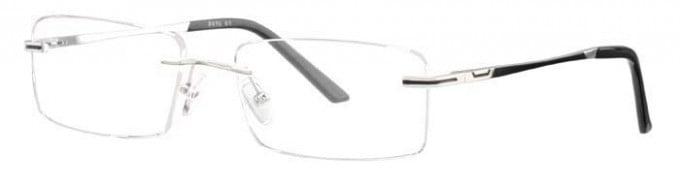 Ferucci FE672 Glasses in Silver