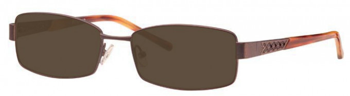 Ferucci FE1763 Sunglasses in Bronze