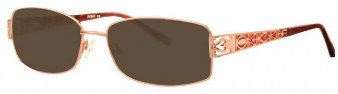Ferucci FE1741 Sunglasses in Gold