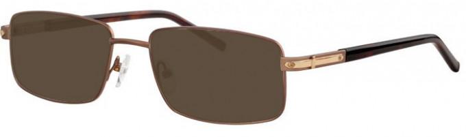 Ferucci FE2005 Sunglasses in Bronze