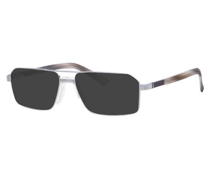 Ferucci FE965 Sunglasses in Silver