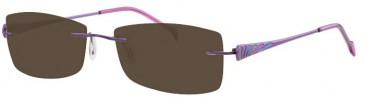 Ferucci FE704 Sunglasses in Lilac