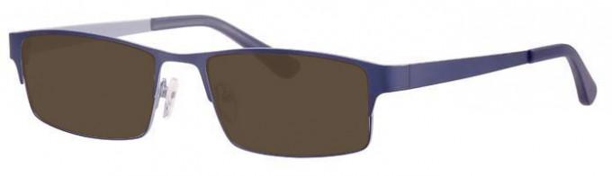 Ferucci FE692 Sunglasses in Navy