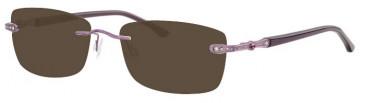 Ferucci FE1779 Sunglasses in Lilac