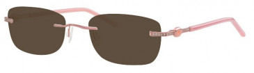 Ferucci FE1778 Sunglasses in Pink