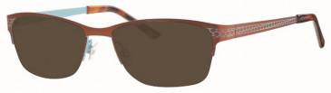 Ferucci Metal Ready-Made Reading Sunglasses