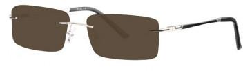 Ferucci FE672 Sunglasses in Silver