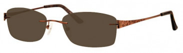 Ferucci FE1754 Sunglasses in Bronze