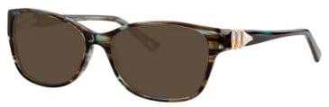 Joia JO2544 Sunglasses in Olive