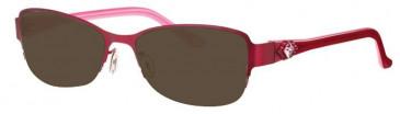 Joia JO2535 Sunglasses in Burgundy
