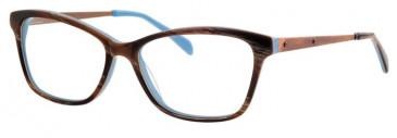 Metz ME1484 Glasses in Brown/Blue