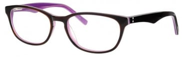 Metz ME1477 Glasses in Brown/Purple