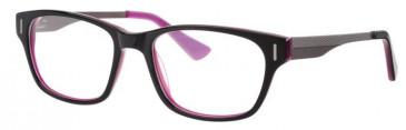 Metz ME1476 Glasses in Black/Purple