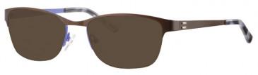 Metz ME1487 Sunglasses in Brown/Purple