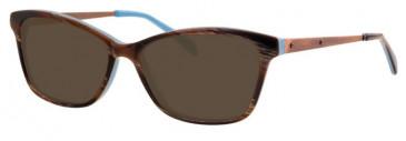 Metz ME1484 Sunglasses in Brown/Blue