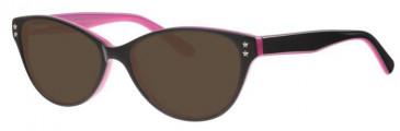 Metz ME1482 Sunglasses in Black/Pink