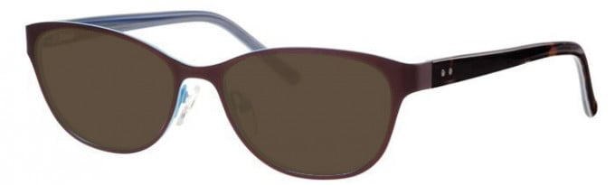 Metz ME1479 Sunglasses in Bronze/Blue