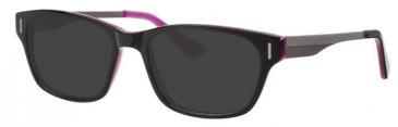 Metz ME1476 Sunglasses in Black/Purple