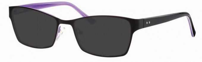 Metz ME1478 Sunglasses in Black/Lilac