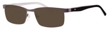 MM3 MM1345 Sunglasses in Gunmetal