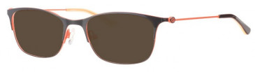 Rip Curl VOM205 Sunglasses in Black/Orange