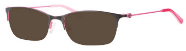 Rip Curl VOM204 Sunglasses in Black/Pink