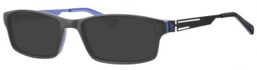 Rip Curl VOAM04 Sunglasses in Black/Blue