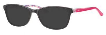 Rip Curl VOA140 Sunglasses in Black/Pink