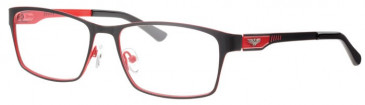 Schott SC4019 Glasses in Black/Red