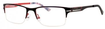 Schott SC4008 Glasses in Black/Red