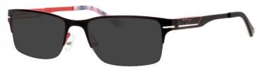 Schott SC4008 Sunglasses in Black/Red