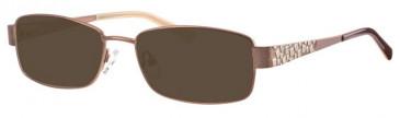 Visage VI437 Sunglasses in Bronze