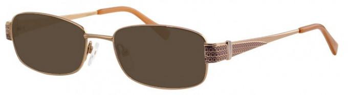 Visage VI431 Sunglasses in Gold