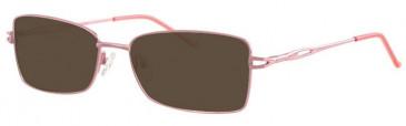 Visage VI426-56 Sunglasses in Pink
