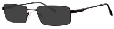 Visage VI407 Sunglasses in Black
