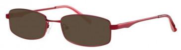 Visage VI403 Sunglasses in Burgundy