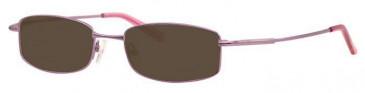 Visage VI400 Sunglasses in Lilac