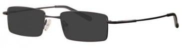 Visage VI399 Sunglasses in Black
