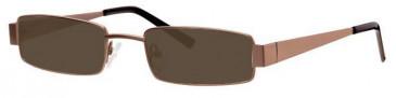 Visage VI384 Sunglasses in Gunmetal