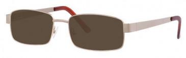 Visage VI340 Sunglasses in Gold