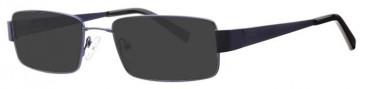 Visage VI419 Sunglasses in Navy