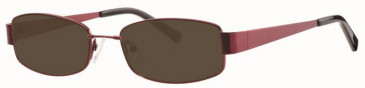 Visage VI417 Sunglasses in Wine
